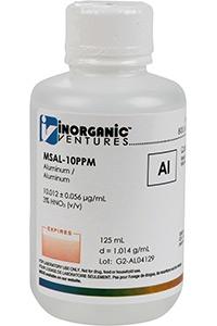 Стандарт алюминия одноэлементный водный (MSAL-10PPM-125ML)