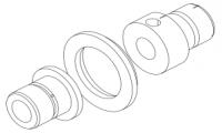 Электроды для HGA без отверстия для датчика (10040153)