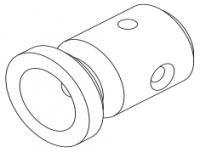 Электрод графитовый левый (конус 60°) (10193272)