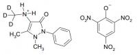 4-Метиламиноантипирина-D3 пикрат 100 мг (NS006-100)