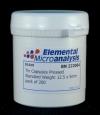 Капсулы оловянные для элементного анализа прессованные, стандартный вес (D1010)