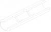 Кювета графитовая с перегородками, увеличенным сроком эксплуатации и пироуглеродным покрытием (10154367)