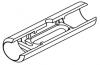 Кювета графитовая с предустановленной (однократно) платформой и пироуглеродным покрытием (10154402)