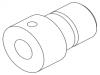 Электрод графитовый левый (конус 90°) (10192897)