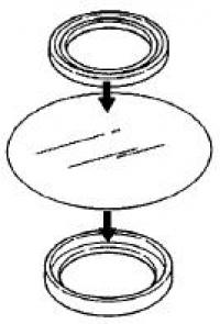 Набор защитных мембран (2 шт. в наборе), G2016450 (3200046450)