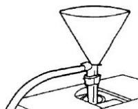 Воронка в сборе + стакан для жидкого азота заправленный XGT Y0000001 (3200111328)