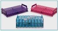 Микропробирочные стойки, складные, 205x135x55 мм,  для пробирок 1.5/2.0 мл, пурпурный (080.01.004P)