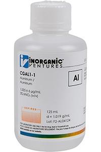 Стандарт алюминия одноэлементный водный (CGAL1-125ML)