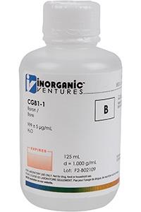 Стандарт бора одноэлементный водный (CGB1-125ML)