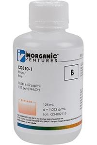 Стандарт бора одноэлементный водный (CGB10-125ML)