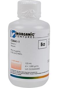 Стандарт бария одноэлементный водный (CGBA1-125ML)