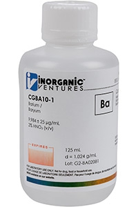 Стандарт бария одноэлементный водный (CGBA10-500ML)