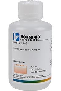 Многоэлементный калибровочный стандарт для ICP-MS спектроскопии IV-STOCK-26-125ML (IV-STOCK-26-125ML)