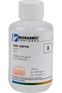 Стандарт бора одноэлементный водный (MSB-100PPM-500ML)