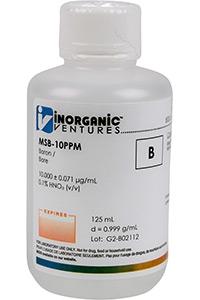 Стандарт бора одноэлементный водный (MSB-10PPM-125ML)