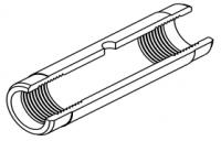 Кювета графитовая стандартная с пироуглеродным покрытием (10154358)
