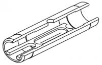 Кювета графитовая с встроенной платформой (неразборная) и пироуглеродным покрытием (конус 90°) (10193274)
