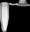 Пробирки AHN myTube PCR 0.2 мл, прозрачные с плоской крышкой, h=21.5 мм