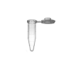 Пробирки микроцентрифужные 1.5 мл, прозрачные, h=40.9 мм, 500 шт./уп. (3-205-80-0)