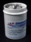 Капсулы оловянные для элементного анализа прессованные, ультра-легкие (D1013)