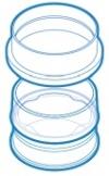 Одноразовые ячейки с рамками, 48 шт/уп (3200847450)