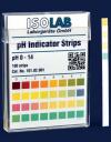 Индикаторные полоски для определения  PH, 0,0 - 14,0 pH, 6 мм х 80 мм (101.02.001)