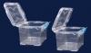 Бокс для хранения лабораторных принадлежностей, V-0,75 л, полипропиленовый с крышкой (062.39.900)