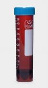 Пробирки центрифужные 50 мл, темные, устойчивые (с юбкой), завинч.крышка, нестерильные, 50 шт/уп (078.12.005)