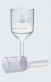 Воронка ВФ фильтрующая (пор.40-100 микрон, d фильтра-45 мм, 75 мл) (класс пористости 2) (043.01.072)