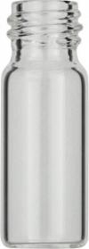 Виалы 1.5 мл N10 под винтовую крышку, 11.6 мм x 32 мм, прозрачные стеклянные, с плоским дном, 100 шт/уп. (702011)