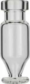 Виалы 1.1 мл N11 под обжимную крышку, 11.6 мм x 32 мм, прозрачные стеклянные, конические с круглой постаментной пластиной, 100 шт/уп. (702015)