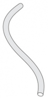 Трубка силиконовая, ID=5 мм, стенка 2 мм, L=1 м (a_B0018283)