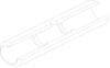 Кювета графитовая стандартная с перегородками без покрытия (10154378)