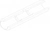 Кювета графитовая с перегородками и пироуглеродным покрытием (10158658)