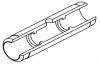 Кювета графитовая с перегородками, увеличенным сроком эксплуатации и пироуглеродным покрытием (10159128)